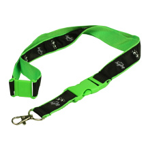 Professional Lanyard with Plastic buckle and metal hook