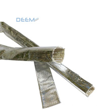 DEEM Electrical Insulation heat reflect Aluminum Coated fiberglass sleeving