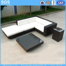 Garden Hotel Furniture Wicker Corner Sofa PE Rattan Sofa