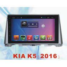 Система Android Car Tracker для KIA K5 2016 с автомобильным DVD и автомобильной навигацией