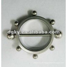 Bouclier de tétine en acier inoxydable de mode bouclier non-percutant