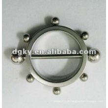 Moda em aço inoxidável mamilo escudo não piercing barrilete mamilo