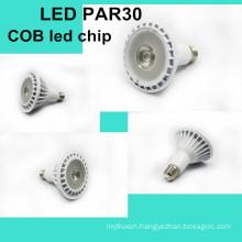 led par light par30 led spotlight cob led light