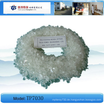 Tp7030 - Carboxyl Gesättigtes Polyesterharz für die Pulverbeschichtung