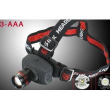 Батареи AAA CREE Q5 LED 180 люмен головная лампа