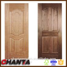 Peau de porte en placage de bois avec prix de la peau de porte compétitif, peau de porte hdf
