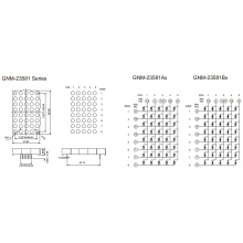 2,3 polegadas, 5,0 mm DOT (GNM-23581Ax-Bx)
