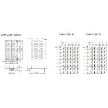 2,3 дюйма, 5,0 мм DOT (GNM-23581Ax-Bx)