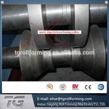 Passé CE et ISO C Purlin Quick Interchange Roll Machine formateur fabriqué en Chine à bas prix