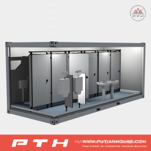 Modular Container House for Public Toilet