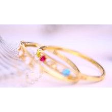 51492-Xuping Jewelry Fashion 18K chapado en oro pulseras brazaletes