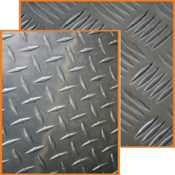 Asia Aluminum Checkered Plate Sizes With Good Quality