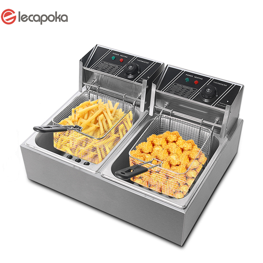 electric fryer commercial
