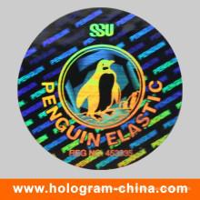 Silver Tamper Proof Tier Sicherheit Hologramm Label