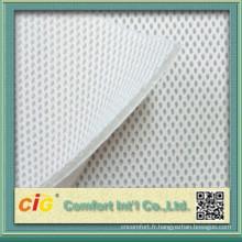 Tissu de maille 3D entretoise pour la couverture de siège de voiture