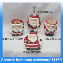 High Quality Ceramic Bathroom Christmas Gift Sets