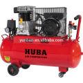 Compresseur d'air à entraînement par courroie de piston à deux pistons en italie, alimentation secteur 2hp / 50L