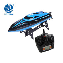 2.4 GHz 4 Channel 180 Degree Flipping RC Yacht High Speed Up to 20KM per Hour with Switchable Left & Right Hand Throttle RC Boat