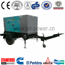 155kVA Silent Three-Phase Diesel Generator with Trailer