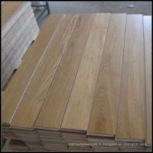 Plancher de bois multi-couche de chêne blanc de matériau de construction