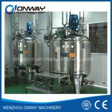 Pl Emulsión de la mezcla del aceite del tanque de mezcla de la mezcla de la mezcla de la mezcla del polvo del mezclador de la mezcla de la emulsión del acero inoxidable
