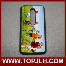 Vente en gros de Sublimation 2D TPU + PC cas de téléphone portable pour Motorola X Play