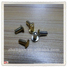 zinc plated blind rivet/solid rivet