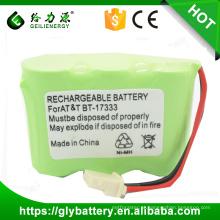 Bateria recarregável de alta qualidade de ni-mh 3.6v 2 / 3aa 600mah de BT-17333