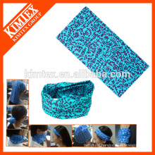 Multifunctional tube bandana stretchy headbands