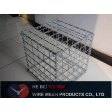 Hot-dipped Electro galvanized PVC coating Stone Cage