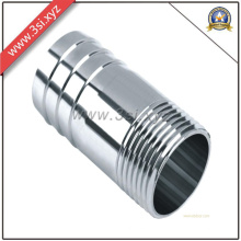 NPT/Bsp 304 Ss Long Barrel Threaded Nipple (YZF-L124)