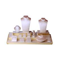 Fabricante de las plataformas del contador de la joyería de la PU de la perla (WST-PL-GX1)