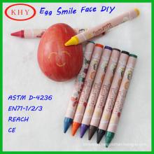 Conform to EN71 washable crayon set