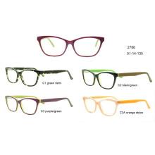 2017 новые очки ацетат оптические рама готов материал