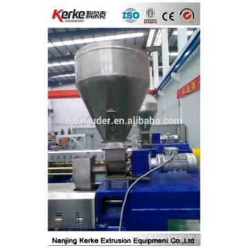 low energy consumption waste recycling plastic granules making machine