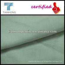 Algodón teñido de tela del popelín de algodón tejido sólido blanco, pura tela