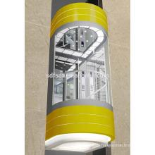 Aufzugskabine für Panorama-Glaslift
