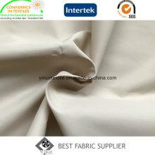 Tafetá de poliéster 100 310t cire casaco tecido China fornecedor