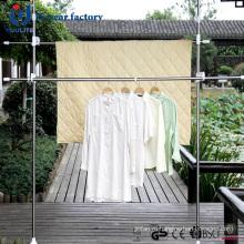 Горячие продажи вертикальных нержавеющей Stel ткань вешалка