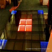 Alquiler de pista de baile con LED en 3D en Houston para una gran fiesta y conferencia de producción