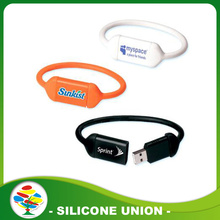 Neues Design 1-64GB USB Silikon Armband