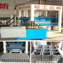 Ladrillo de hormigón que hace la máquina QT10-15 con la calidad excelente