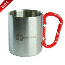 Двойная стенка нержавеющая сталь Вакуумные кофе Кубок