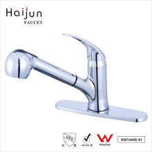 Haijun Useful And Durable Long Spout 0.1~1.6MPa Single Handle Brass Basin Faucet
