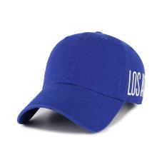 chapeau de papa à boucle en métal avec patch tissé