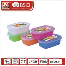 Plastic redondo Container(4L) de comida de microondas