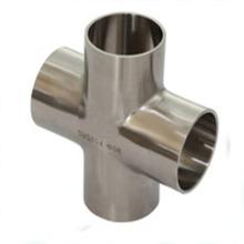 Raccords de tuyaux Croix en acier inoxydable