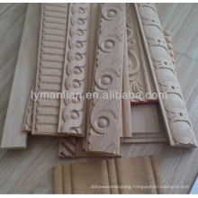 decorative carved wood wall molding