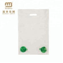Heißer Verkauf Günstigstes Eco-biologisch abbaubare kundengebundene Logo-Einzelhandels-klare Plastikwaren-Taschen mit dem Drucken