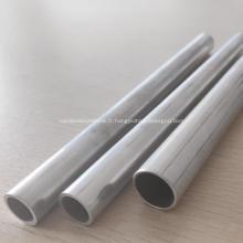 Tube rond de dissipation thermique en aluminium fini moulin